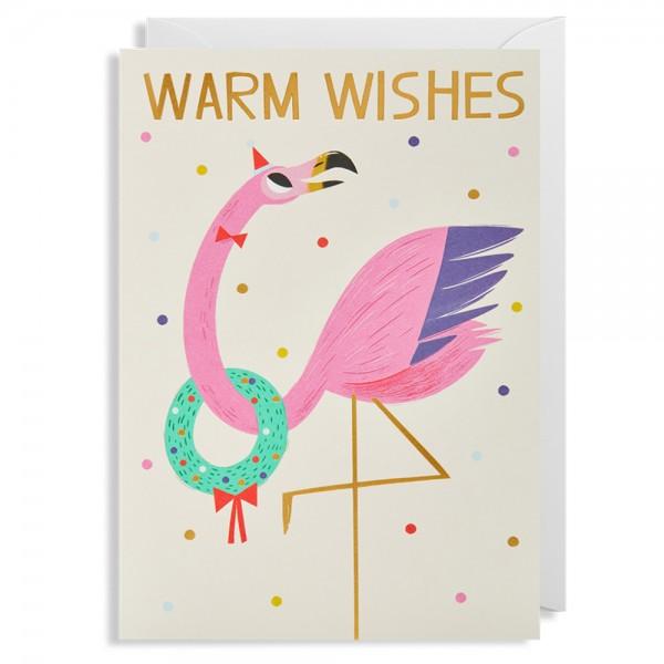 """Klappkarte Allison Black """"Warm Wishes"""""""