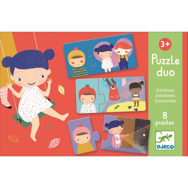 """Duo-Puzzle """"Gefühle"""""""