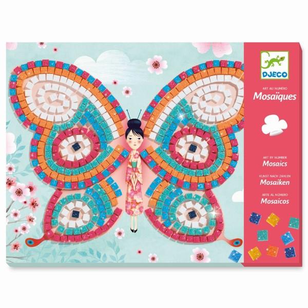 """Mosaik-Bastelset """"Schmetterlinge"""""""
