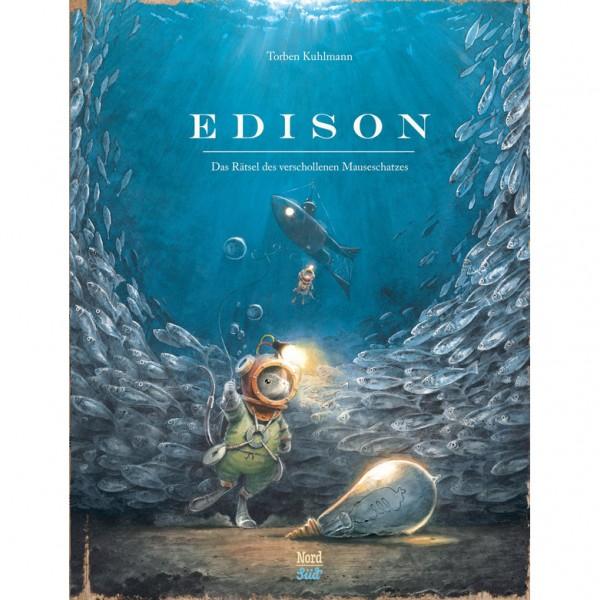 "Buch ""Edison - Das Rätsel des verschollenen Mauseschatzes"""