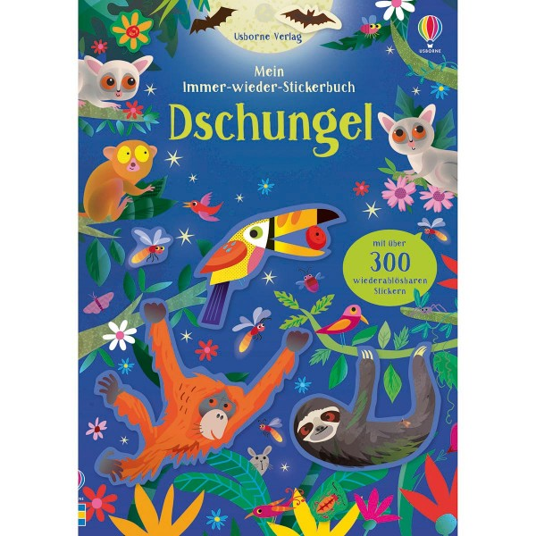 """Mein Immer-wieder-Stickerbuch """"Dschungel"""""""