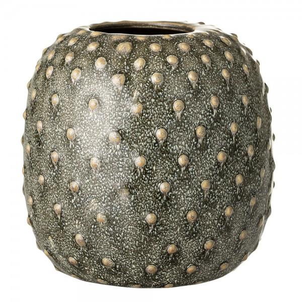 """Vase """"Kleine Noppen"""" grün ø 14 cm"""