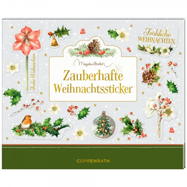 """Stickerbuch """"Zauberhafte Weihnachtssticker"""""""