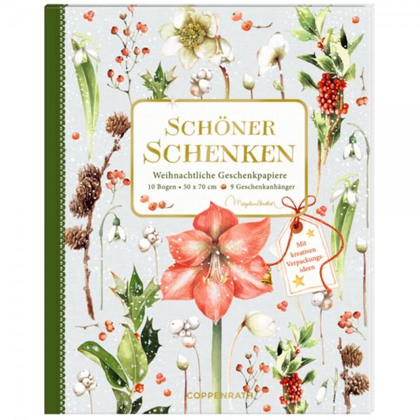 """Geschenkpapier-Buch """"Weihnachtliche Geschenkpapiere"""" M. Bastin"""