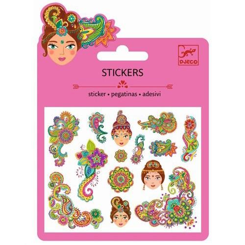 "Sticker Minipack ""Indien"" Glitter"