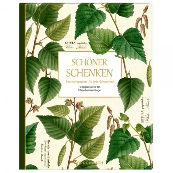 """Geschenkpapier-Buch """"Schöner schenken - Augustina"""""""