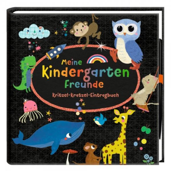 """Freundebuch """"Meine Kindergartenfreunde - Kritzel-Kratzel-Eintragbuch"""""""
