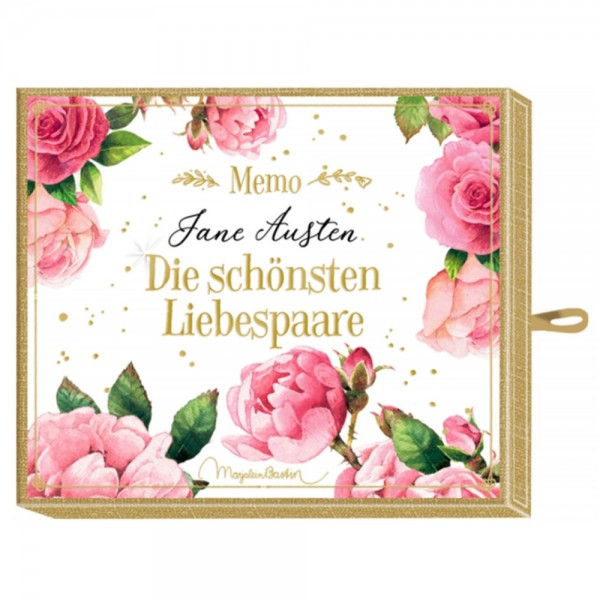 """Memo """"Jane Austen - Liebespaare"""" M. Bastin"""