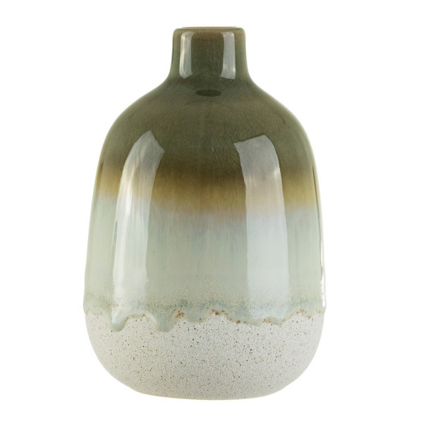 "Keramik-Vase ""Mojave Glasur"" grün"