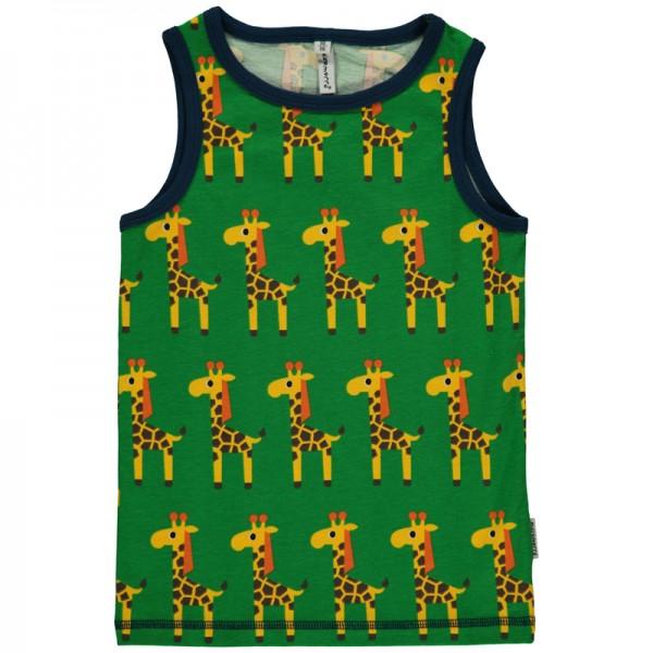 """Tank Top """"Giraffen"""" grün"""