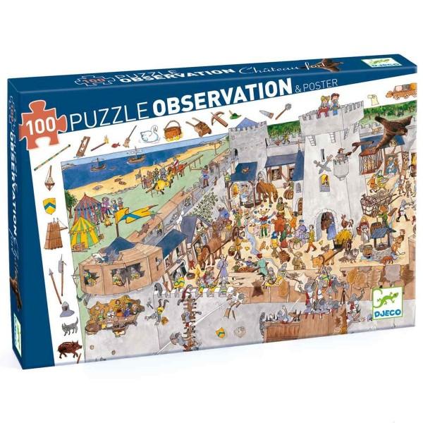 "Such-Puzzle ""Ritterburg"" 100 Teile"