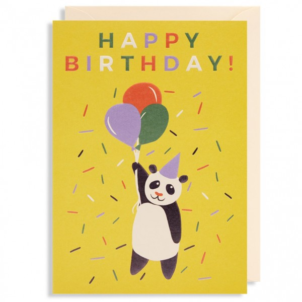 "Klappkarte ""Happy Birthday Panda"" Naomi Wilkinson"
