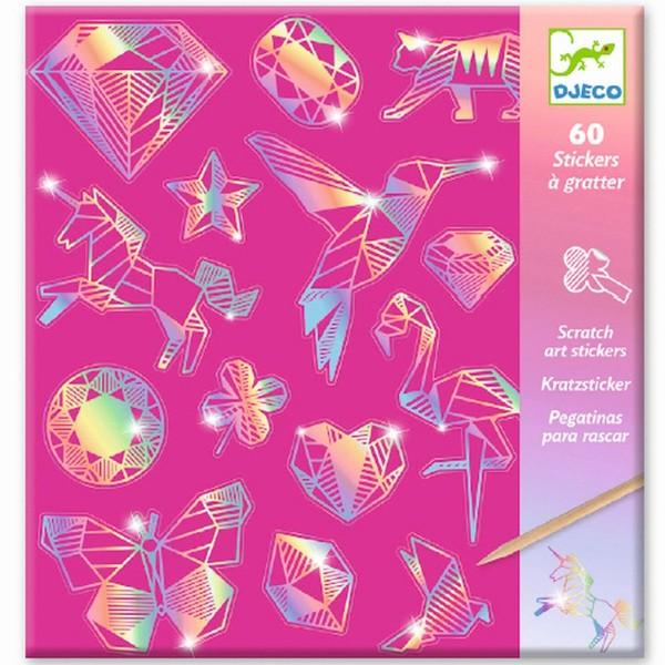 """Kratzbild-Sticker Holographie-Effekt """"Diamant"""""""