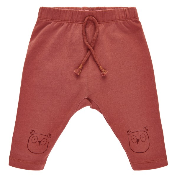 "Bio-Babyhose ""Eule"" rostrot"