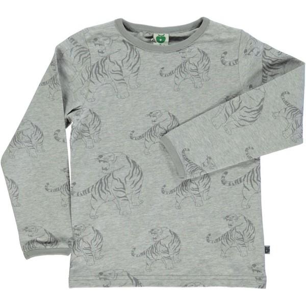 """Shirt """"Tiger"""" graumix"""