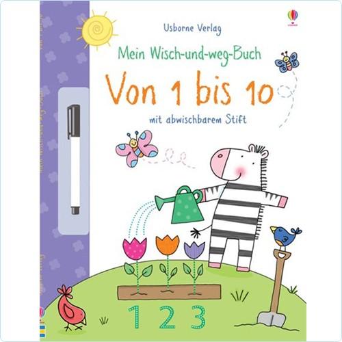 """Wisch-und-weg-Buch """"Von 1 bis 10"""""""