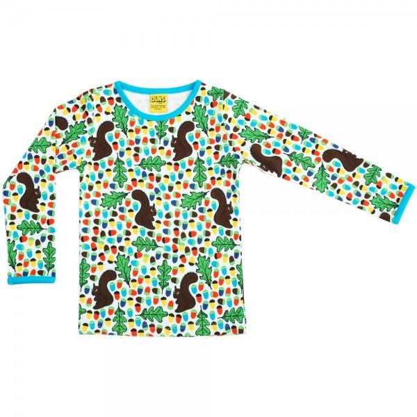 """Shirt """"Eichhörnchen & Eicheln"""" natur/blau"""