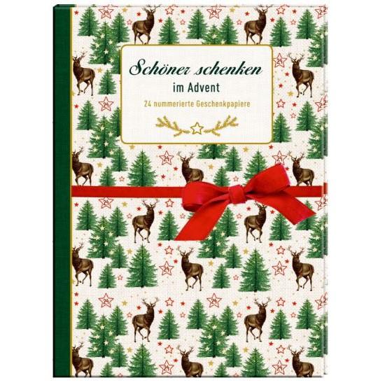 """Geschenkpapier-Buch """"Schöner schenken im Advent"""""""