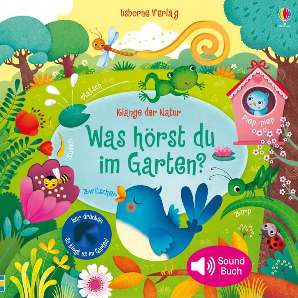 """Sound-Buch """"Klänge der Natur - Was hörst du im Garten?"""""""