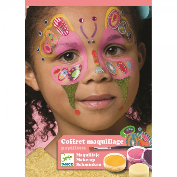 "Body Art Make-up Set ""Schmetterling"""