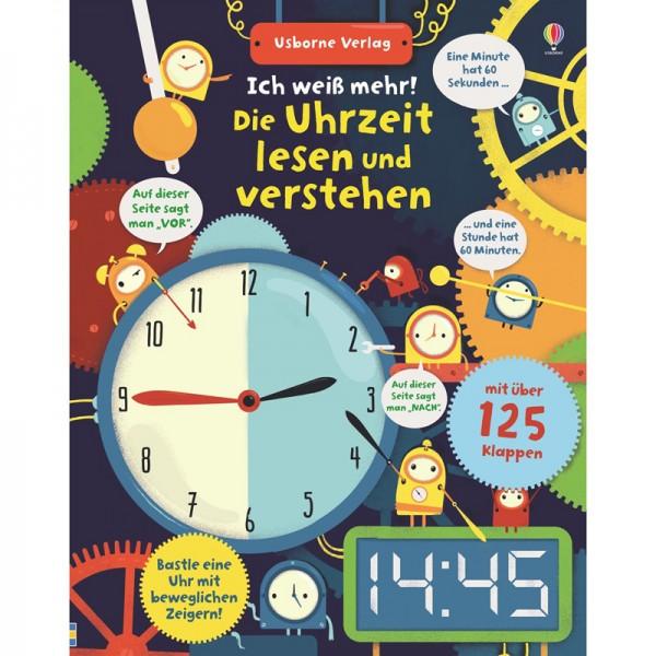 """Buch """"Ich weiß mehr! Die Uhrzeit lesen und verstehen"""""""