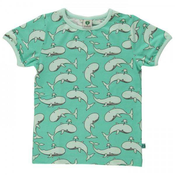 "Bio-Kurzarm-Shirt ""Wale"" cascade"