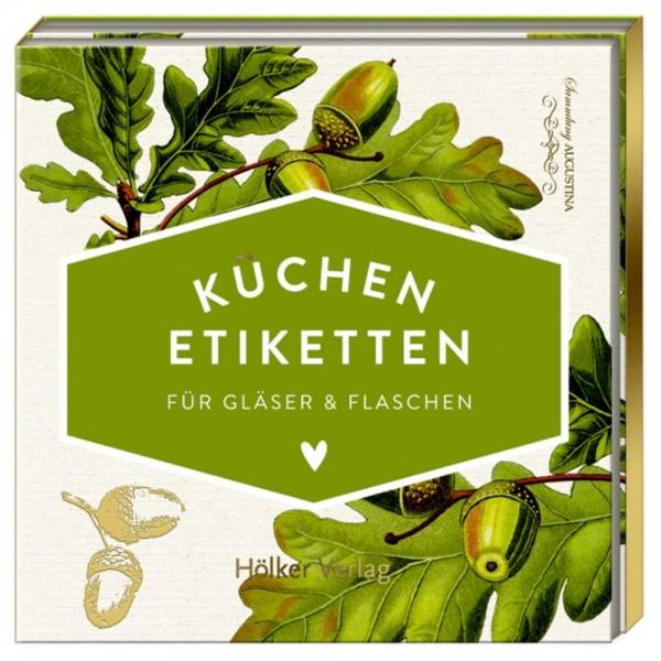 """Küchen-Etiketten """"Eichenblätter"""" Küchenpapeterie"""