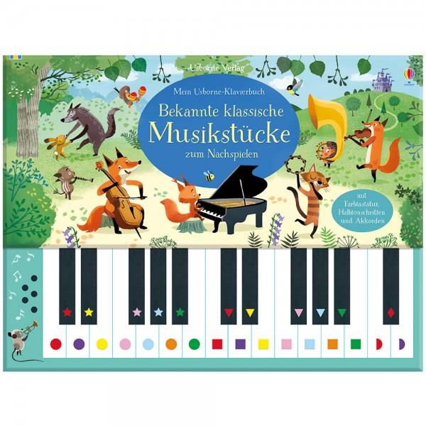 """Klavierbuch """"Bekannte klassische Musikstücke zum Nachspielen"""""""