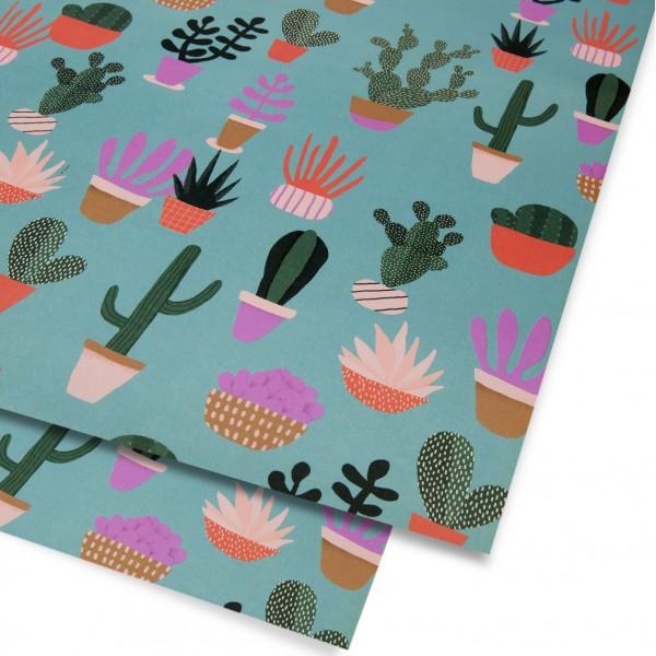 """Geschenkpapier """"Cactus"""" N. Wilkinson"""