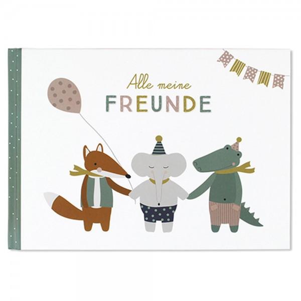 """Freundebuch """"Alle meine Freunde"""""""