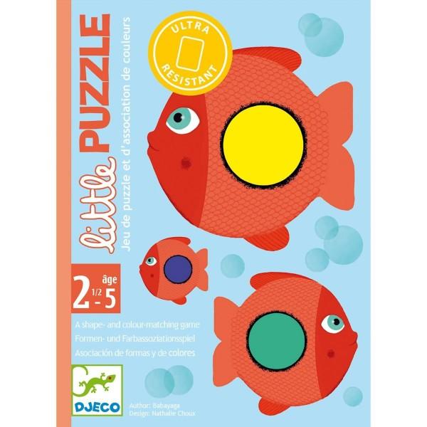 """Kartenspiel für Kleine """"Little Puzzle"""" 2,5-5 J"""