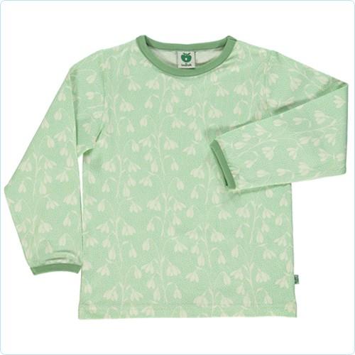 "Shirt ""Schneeglöckchen"" grün"