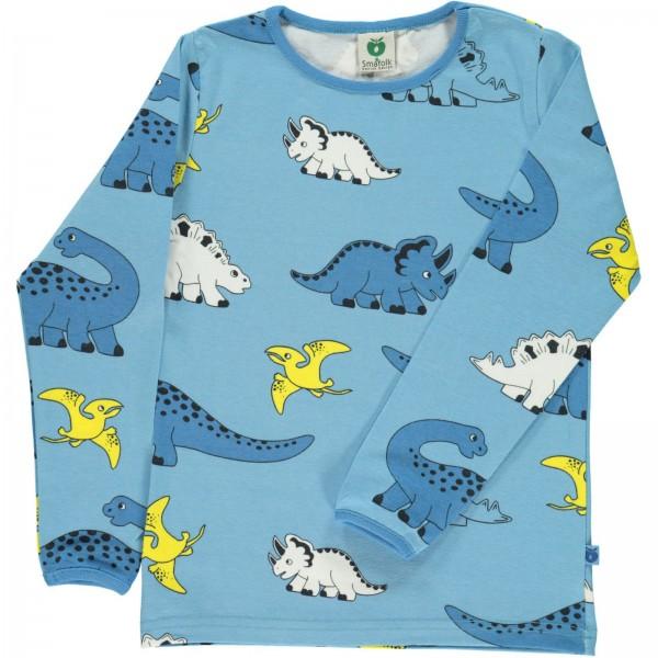 """Bio-Shirt """"Dinos"""" himmelblau"""