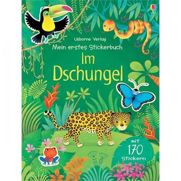 """Mein erstes Stickerbuch """"Im Dschungel"""""""