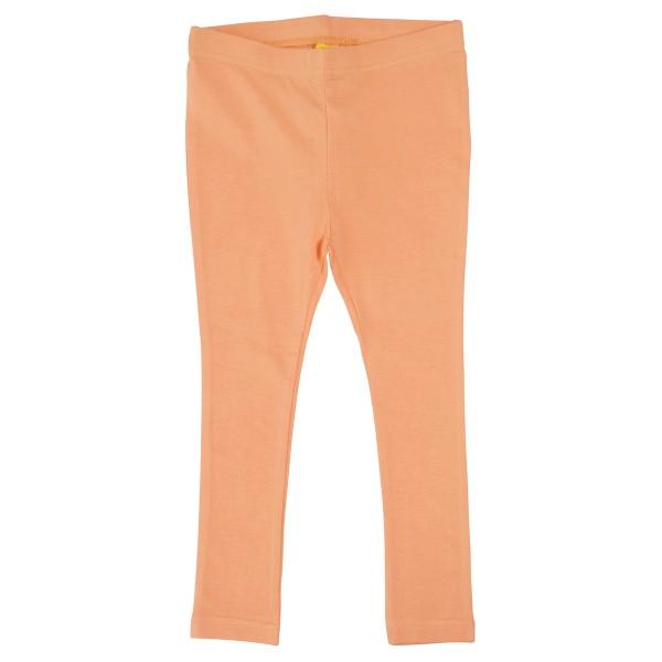 Bio Leggings pastell-orange