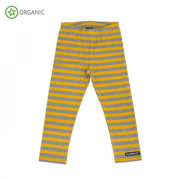 "Leggings ""Blockstreifen"" mustard/grey"