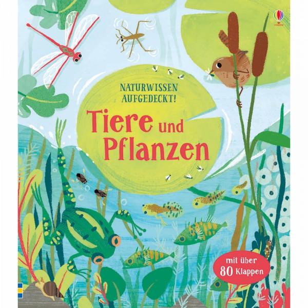 """Buch """"Naturwissen aufgedeckt! Tiere und Pflanzen"""""""