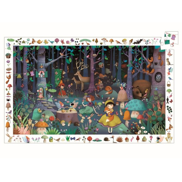 """Such-Puzzle """"Zauber-Wald"""" 100 Teile"""