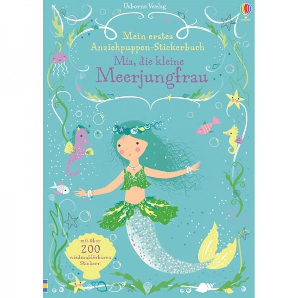 """Anziehpuppen-Stickerbuch """"Mia, die kleine Meerjungfrau"""""""