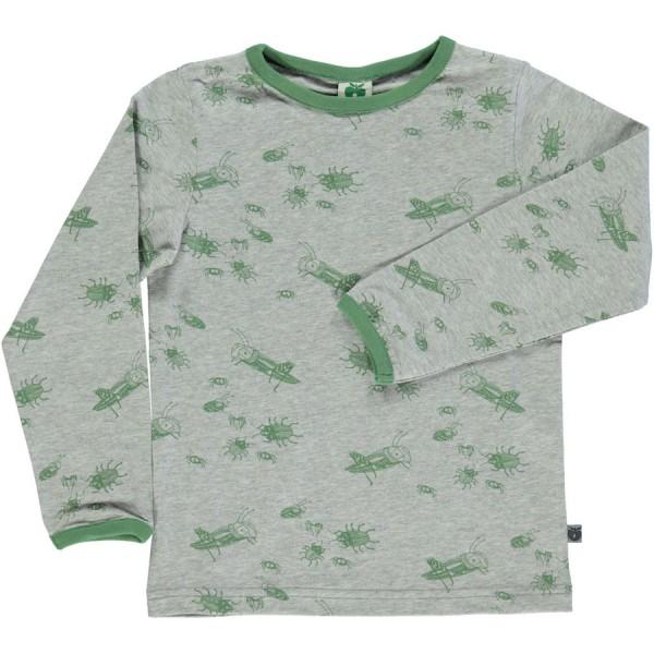 """Shirt """"Käfer"""" graumix"""