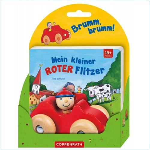 """Buch & Auto """"Mein kleiner Roter Flitzer"""""""