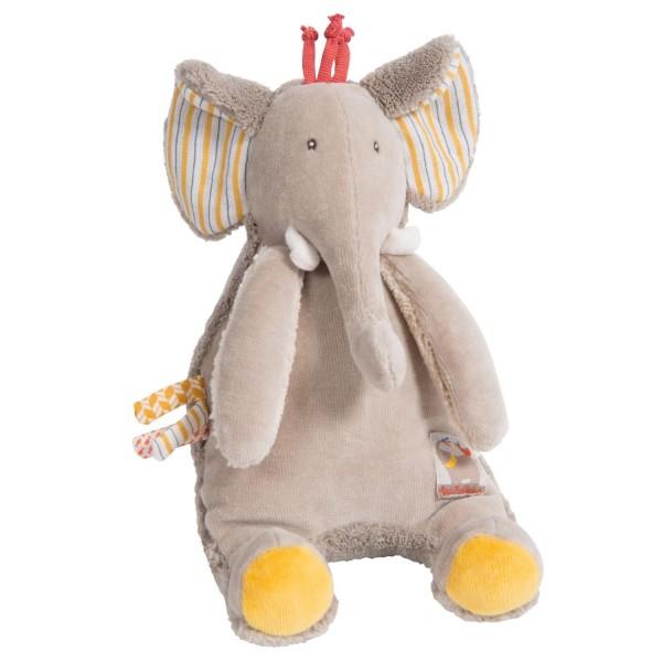 """Spieluhr Elefant """"Les Papoum"""" 17cm"""