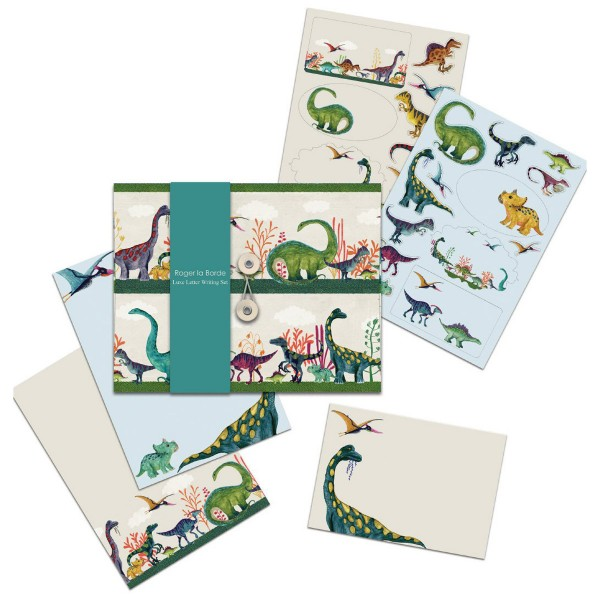 "Briefpapier-Set ""Dinosaur Land"""