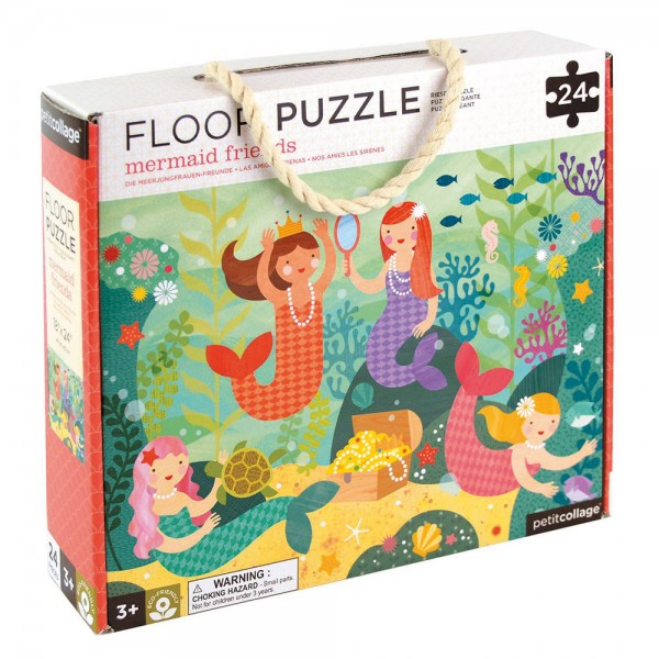 "Boden-Puzzle 24 Teile ""Meerjungfrauen"""