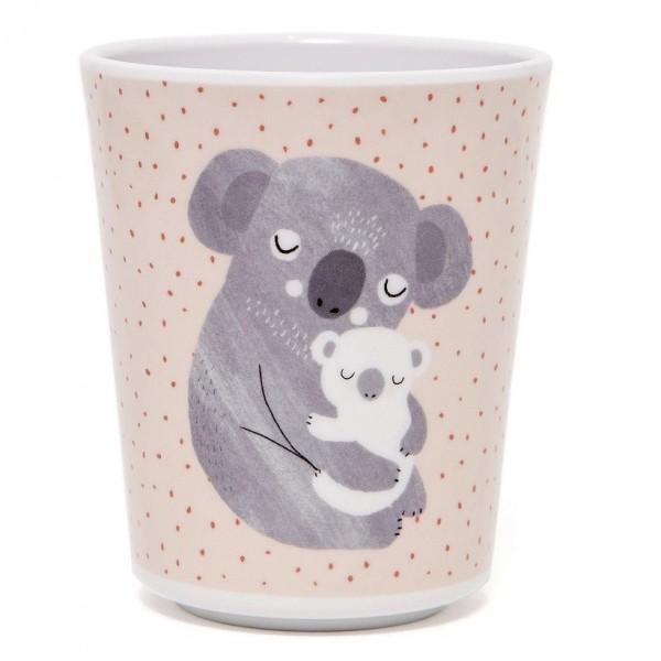 """Melamin-Becher """"Koala"""" rosa"""