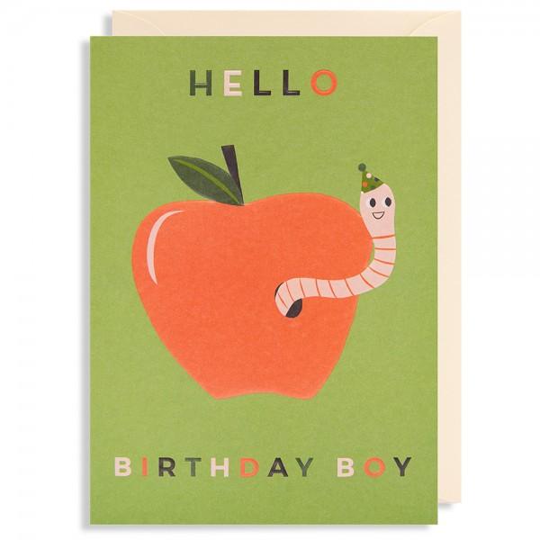 "Klappkarte ""Hello Birthday Boy"" Naomi Wilkinson"