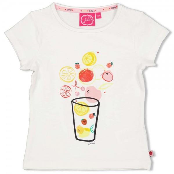 "Kurzarm-Shirt ""Früchte"" weiß"