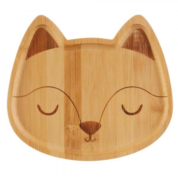 """Bambus-Teller """"Fuchs"""""""