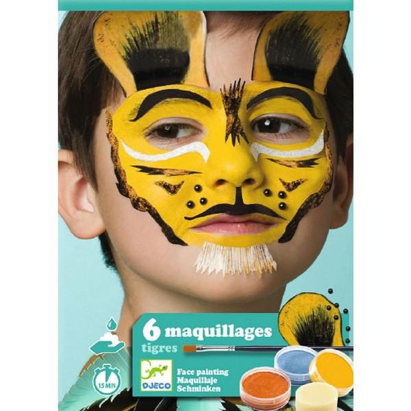 "Body Art Make-up Set ""Tiger"""