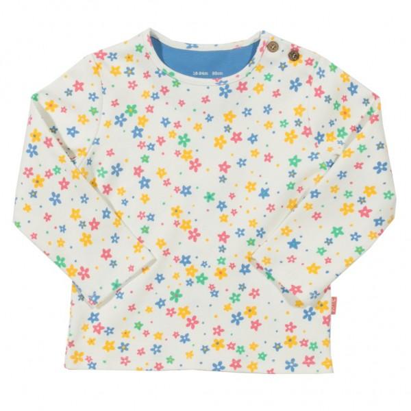 """Shirt """"Bunte Blümchen"""" weiß"""
